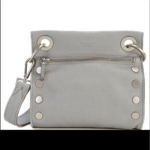 New Tony Grommet Studded Leather Crossbody Bag